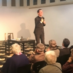 Lesung Pfarrer Dr. Wolfgang Picken im Schauspielhaus 11. Dezember 2018 © privat
